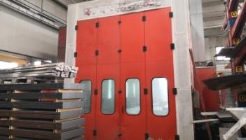 Cabina di verniciatura Termomeccanica GL5/18000 misure 18x5x5 metri