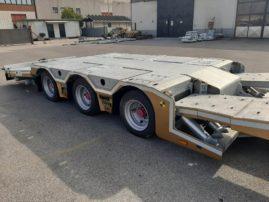 Semirimorchio soccorso stradale allungabile con piano mobile nuovo pronta consegna.